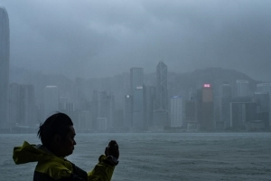 Hong Kong raises typhoon alert to highest level as Mangkhut closes in