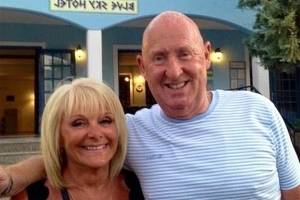 British couple moved granddaughter out of their Egyptian hotel room hours before they died due to 'musty smell'