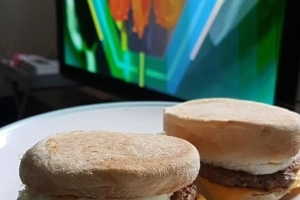 A McDonald's breakfast in your own kitchen! Man creates homemade version of the iconic Sausage & Egg McMuffin - with impressive results