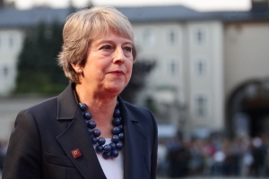 Chequers plan the only route to Brexit deal, Theresa May insists