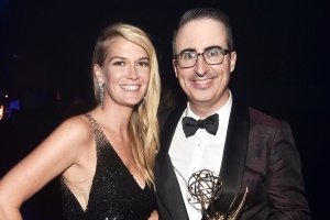 Emmy Winner John Oliver Reveals He and Wife Kate Welcomed Their Second Child Three Months Ago