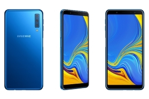 Samsung's mid-range Galaxy A7 has a triple camera setup
