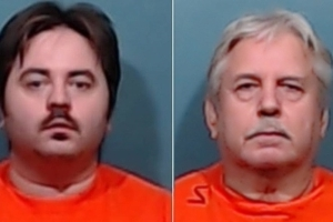 Texas father and son allegedly killed neighbor over mattress in trash bin: video released