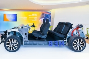 Volkswagen Debuts MEB Platform for Electric Vehicles