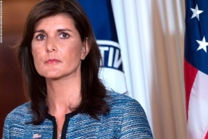Nikki Haley: US 'not looking to do regime change anywhere'