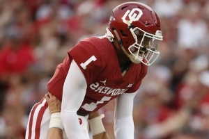 No. 5 Oklahoma escapes with 28-21 OT win over Army