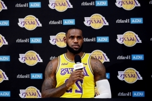LeBron James Hits Reset Button, Warns of 'Bumps and Bruises' at Lakers Media Day