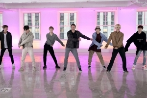 Fortnite dances as performed by BTS, the world's most popular boy band