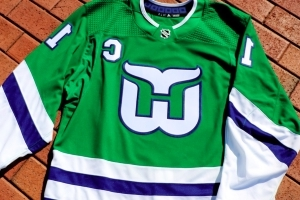 Hurricanes to wear Hartford Whalers jerseys twice this season