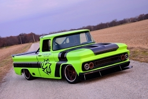 This Fire-Breathing 1960 Chevy C10 Rewrites the Book on Wicked