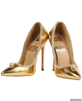 1b0209791b1 Offbeat  Would you pay  17 million for these shoes  World s  most ...