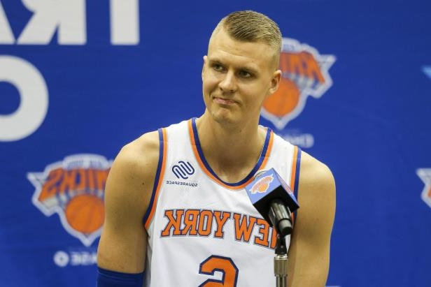 bab55e0dd69e Sport  Porzingis active in Knicks training camp despite ACL rehab ...