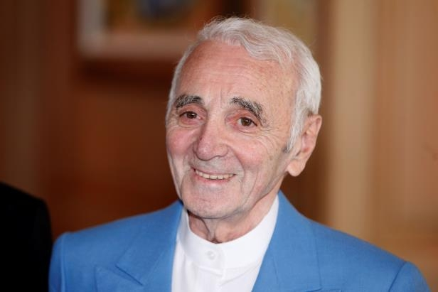 Entertainment: French singer and actor Charles Aznavour dies