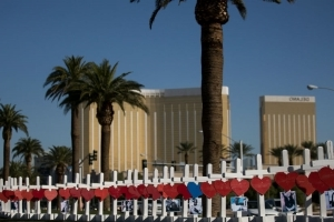 Las Vegas strip to go dark on first anniversary of shooting