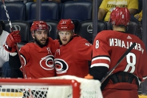 Hurricanes' Foegele among surprises to make NHL rosters
