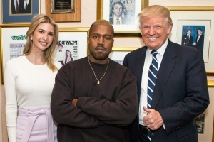 Kanye West 'Loves Donald Trump' and Talks About Him 'All the Time': Source