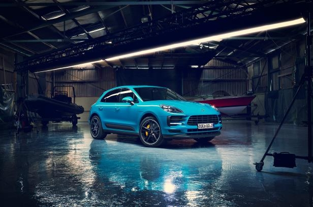 Auto Shows Porsche Shows Off Refreshed 2019 Macan In Paris