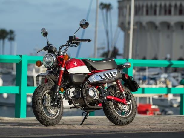 Motorcycles: 2019 Honda Monkey First Ride - PressFrom - US