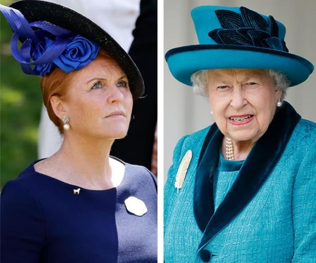 Image result for Queen Elizabeth Sarah Ferguson