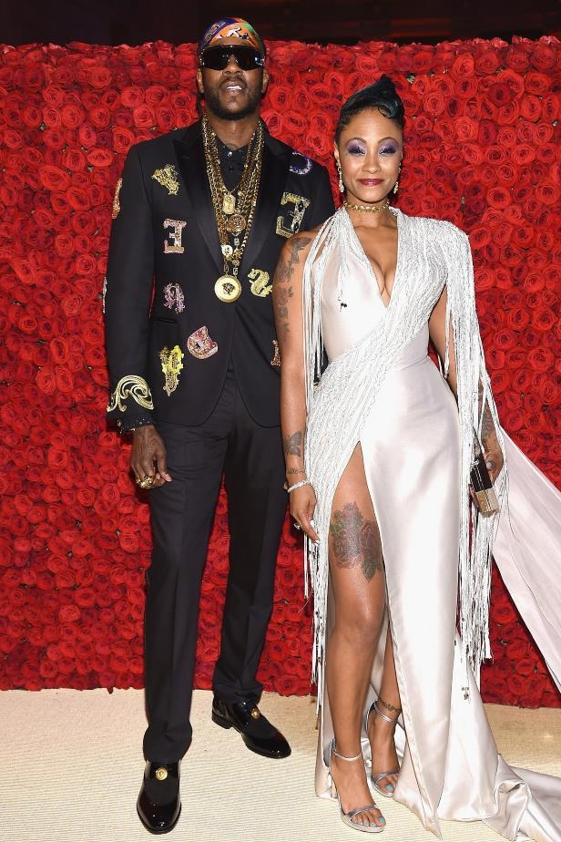 "Slide 20 of 77: The ""Birthday Song"" rapper married longtime love Kesha Ward on Aug. 18, just over three months after proposing to her for a second time. ""Chainz's,"" the artist, né Tauheed Epps, wrote of a post-nuptials family portrait on Instagram, confirming the union."