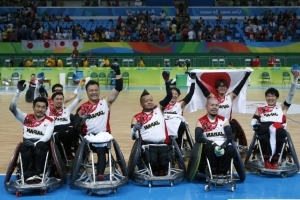 World champs Japan hope to bring wheelchair rugby to the masses
