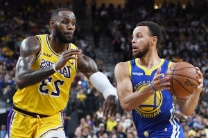 Lakers-Warriors most-watched NBA preseason game ever on ESPN