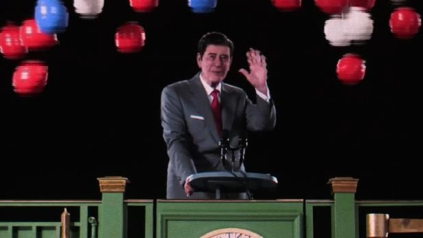 Ronald Reagan 'in the flesh' thanks to first hologram