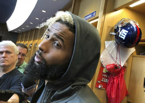 0f76a4ec3bf363 Sport: Giants' Odell Beckham says he shouldn't have to 'apologize ...