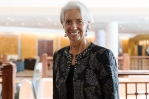 Lagarde Sees More Market Volatility Amid Trade, Tightening Risks