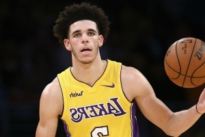 4549fcdc1a7 Sport  Lakers  Lonzo Ball covers Big Baller Brand tattoo to avoid ...