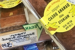 Trader Joe's Is Selling A $4 Loaf Of Vegan Banana Walnut Bread