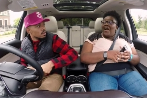 Chance the Rapper goes undercover as a Lyft driver for a good cause