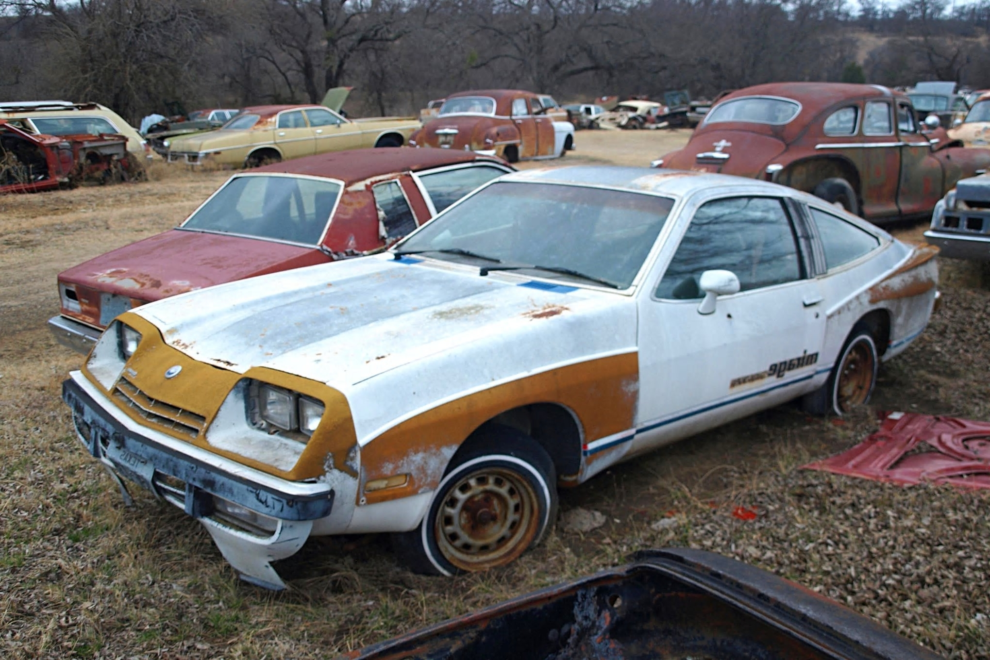 Junkyard Crawl Pair Of S Supercars Discovered In Texas