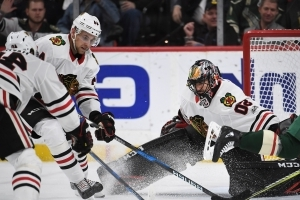 Return in sight for Blackhawks goalie Corey Crawford: 'If everything goes right he can go on Thursday'