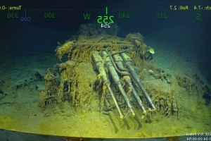 Sunken World War II aircraft carrier found by deep-sea expedition