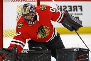 Blackhawks' Crawford says he'll return to crease Thursday vs. Coyotes