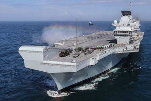 New York welcome for HMS Queen Elizabeth after warship crosses Atlantic