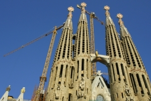 Sagrada Familia gets a building permit 130 years too late
