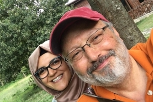 Jamal Khashoggi's fiancee writes him a parting message