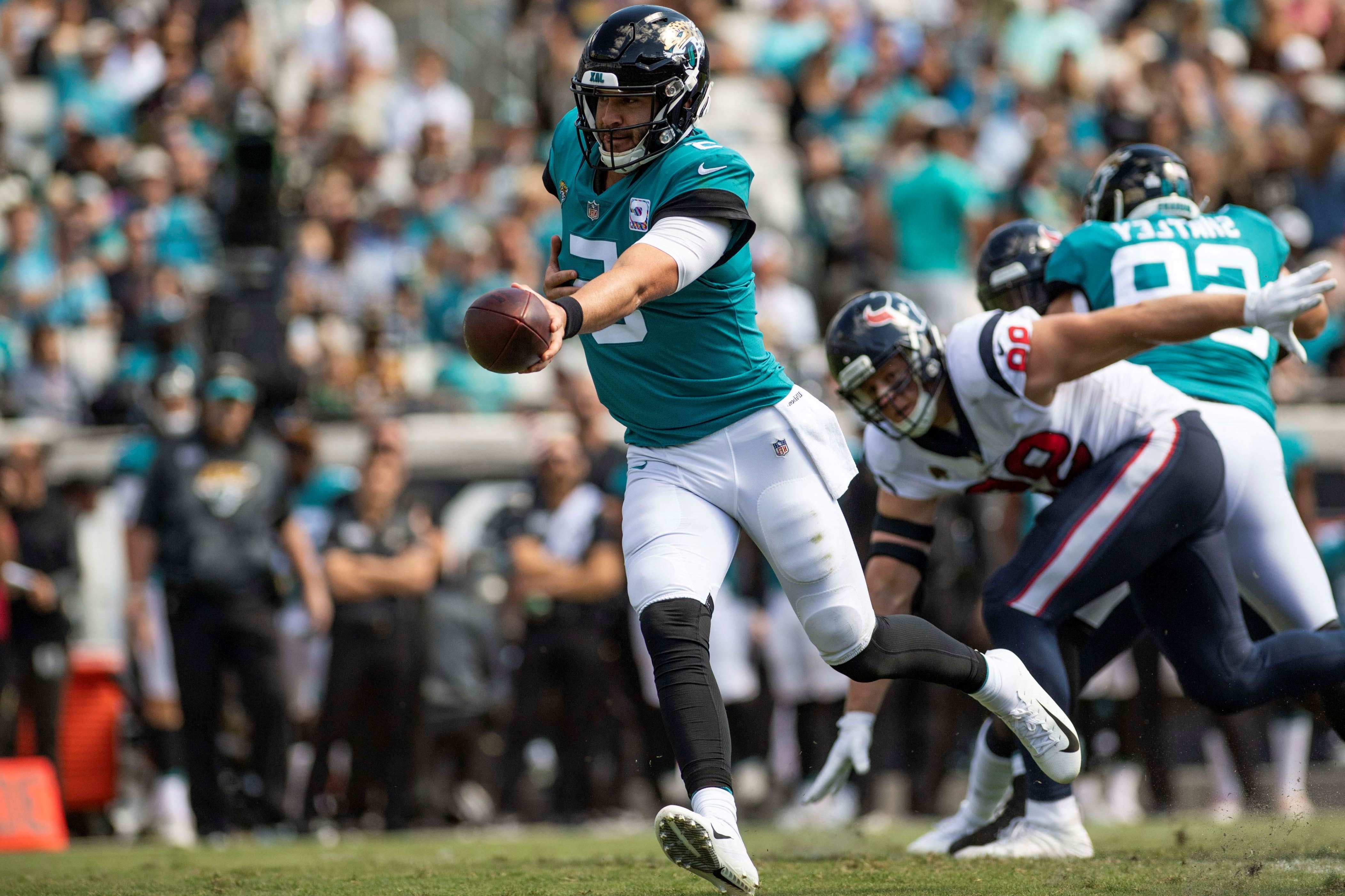 f4d6ed08 Offbeat: Blake Bortles benched by Jaguars after second fumble vs ...
