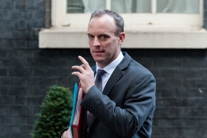 Ditch your Northern Ireland backstop demands or we won't agree to extend the Brexit transition period, Dominic Raab tells EU