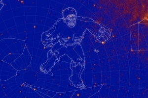 NASA named new constellations after The Incredible Hulk and Godzilla
