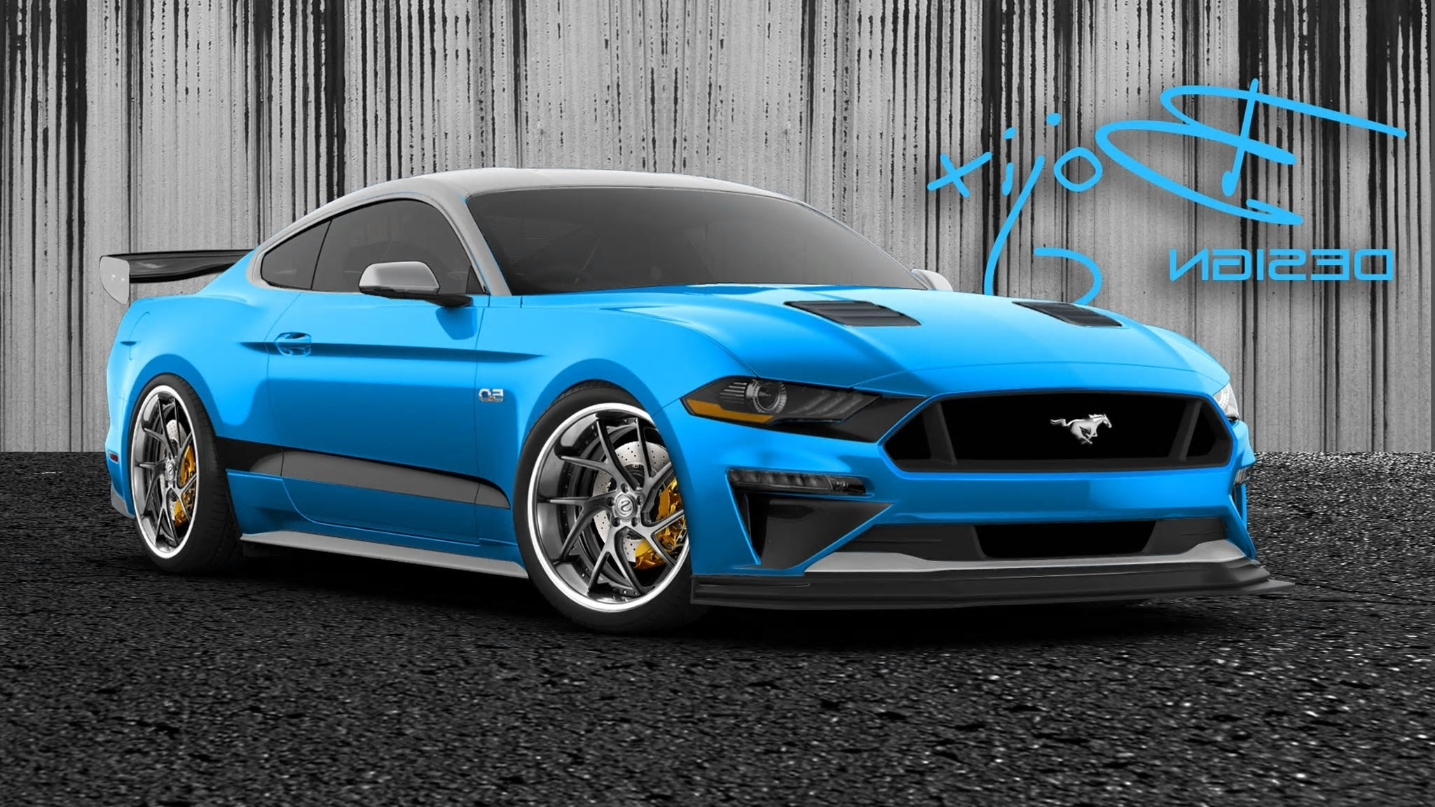 These five custom 2018 ford mustang coupes are sema bound