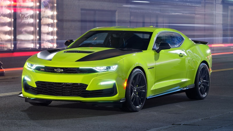 Auto Shows: Chevrolet Reportedly Scrambling to Fix the 2019 Camaro SS Face - PressFrom - US