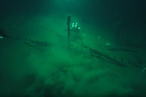 The world's oldest shipwreck: 2,400 year old 'Odysseus' Greek trading vessel discovered 1.3 miles down at the bottom of the Black Sea