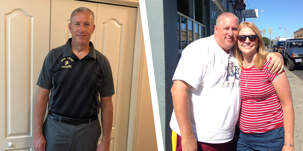 This Man Lost 122 Pounds With the Help of a Fitbit