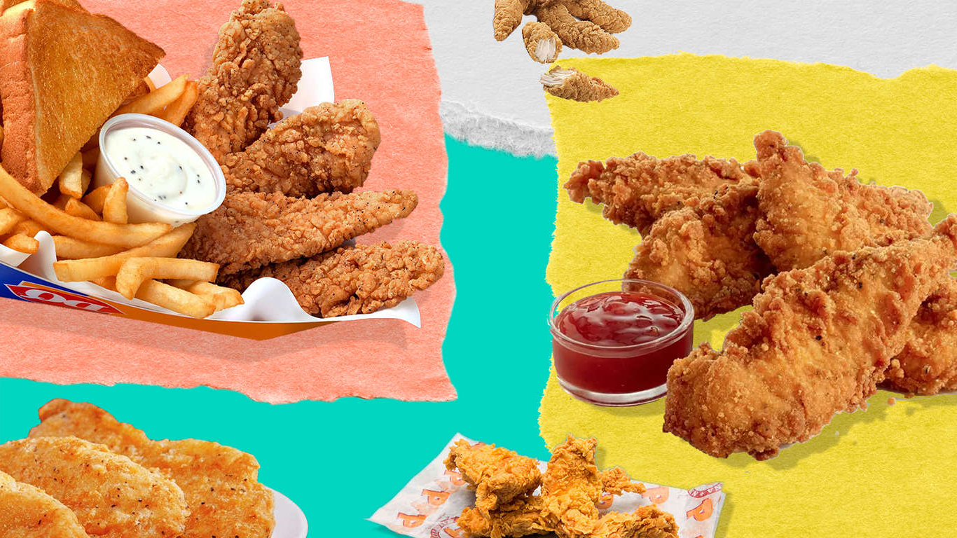 Food 13 Fast Food Chicken Tenders Ranked Pressfrom Us