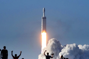 SpaceX lines up another launch of its powerful Falcon Heavy rocket from the Space Coast