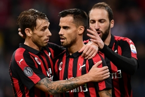 Suso, Higuain on target as Milan gets back to winning ways