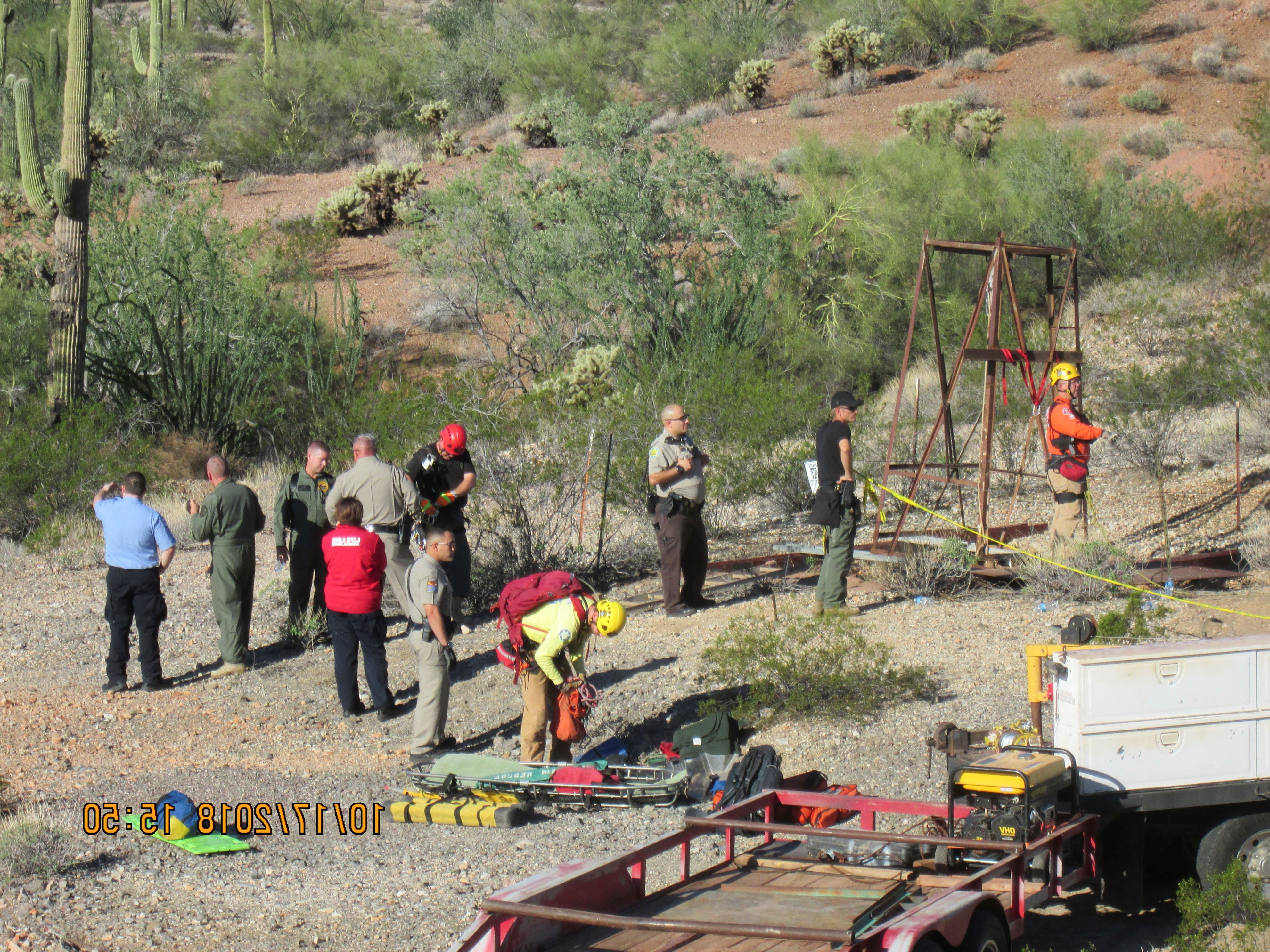 US: Arizona man talks about 2-day ordeal in abandoned mine